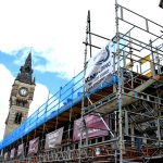 Scaffolding for Darlington Covered Market